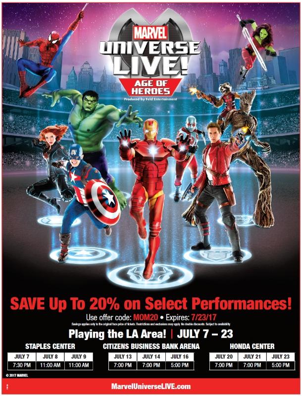 Marvel Universe LIVE Discount