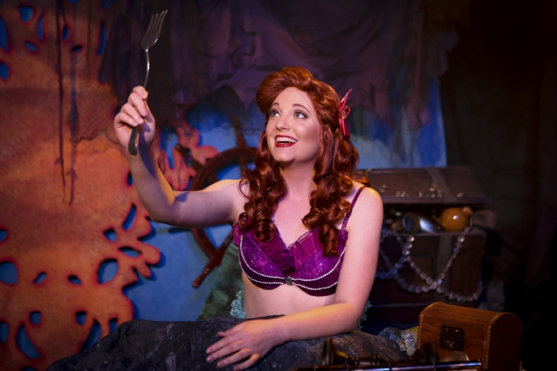 Ariel played by the talented Kristin Atkins