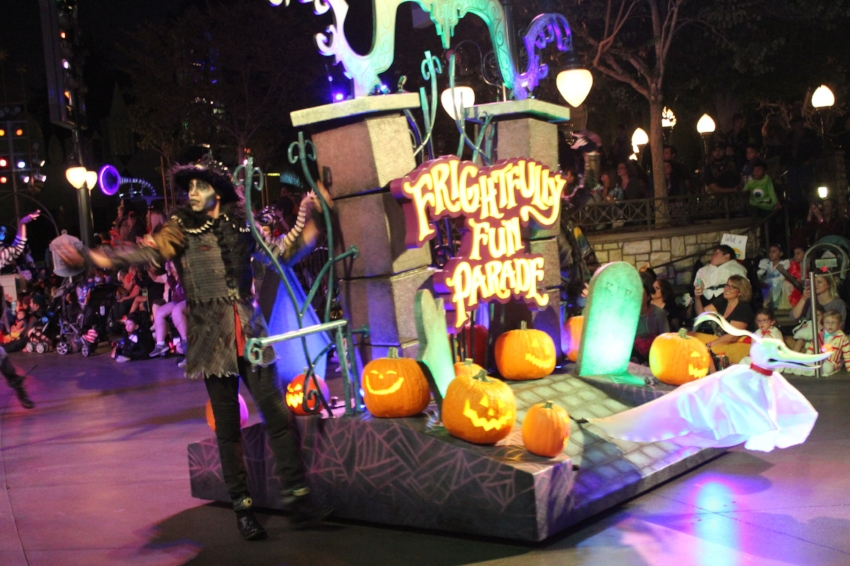 Frightfully Fun Parade at Disneyland