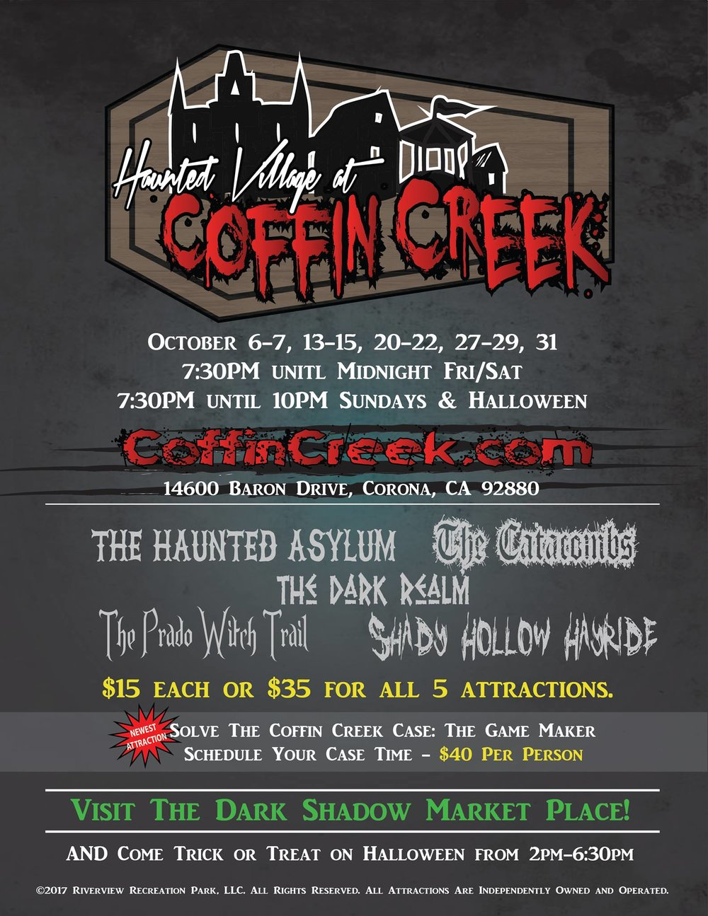 Haunted Asylum at Coffin Creek