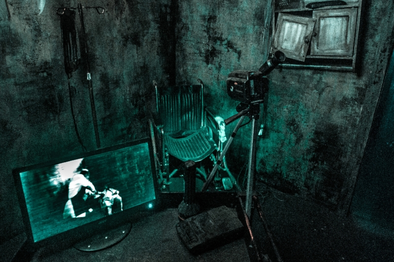 Paranormal INC. Photo Credit: Knotts Scary Farm