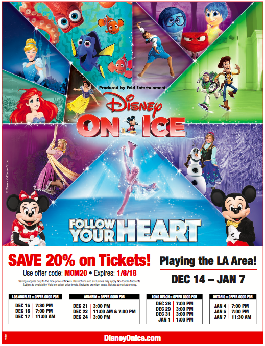 Disney On Ice Discount Flyer