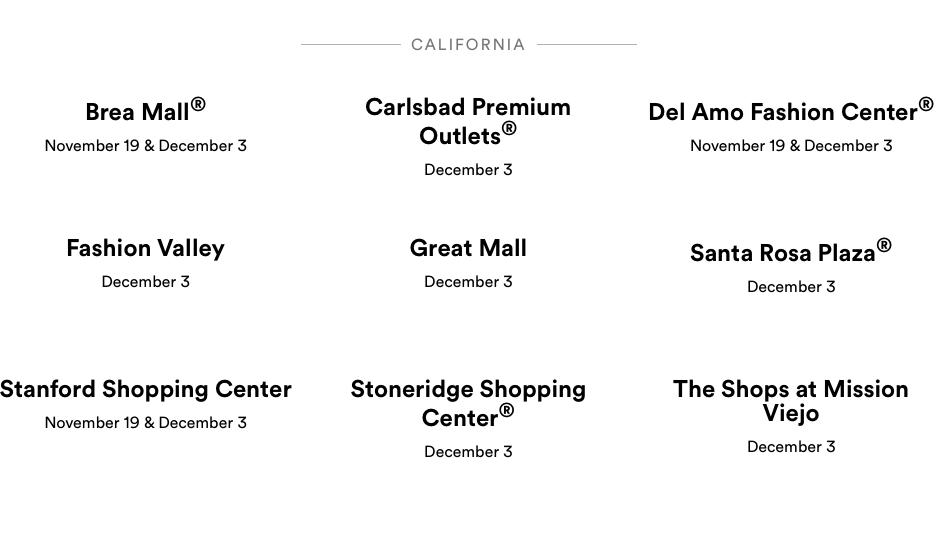 Silent Santa Locations