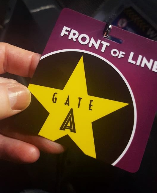 Front Line pass Universal Studios Hollywood (c) Cleverly catheryn