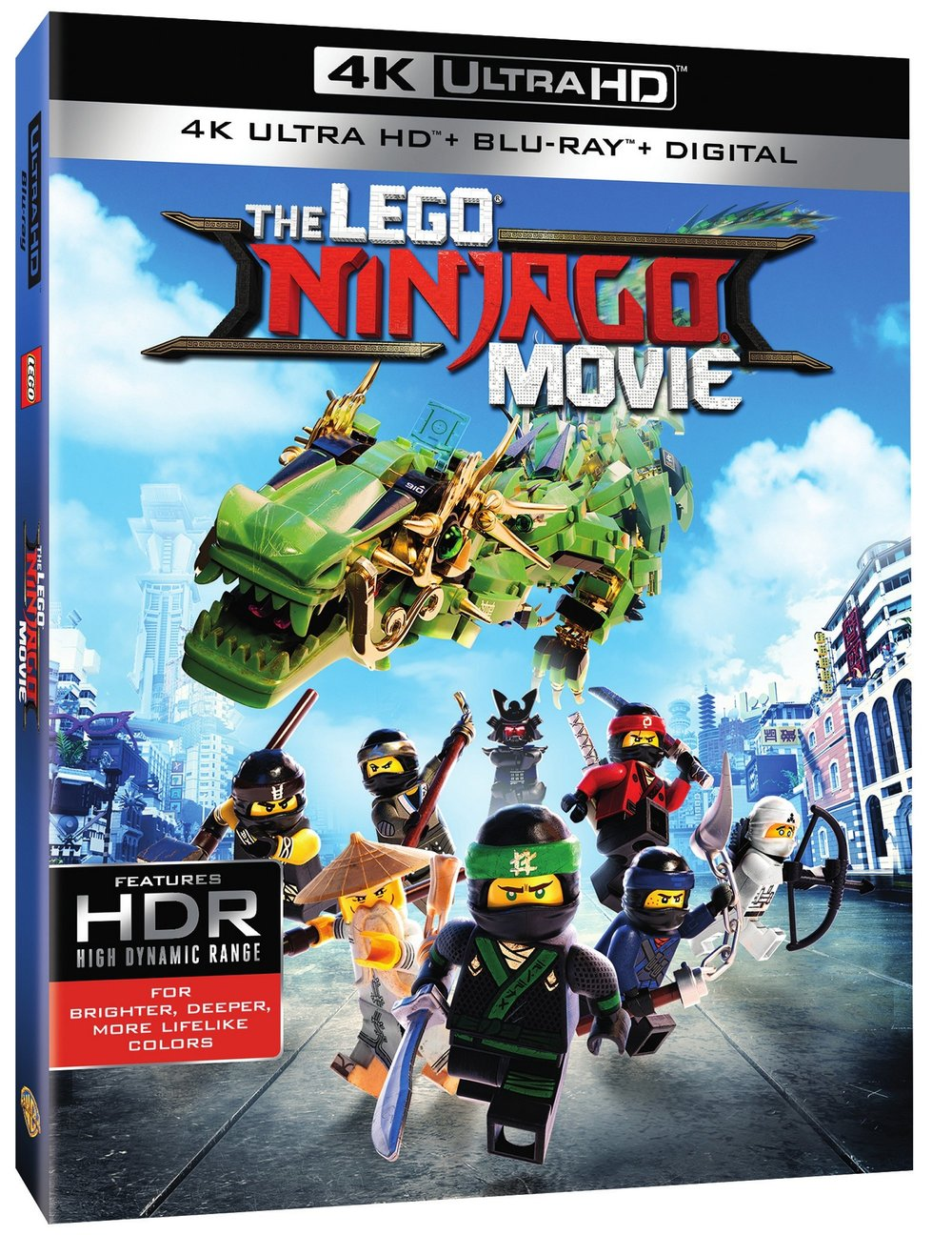 The Ninjago Movie coming to Blu-Ray and DVD December 19th, 2017