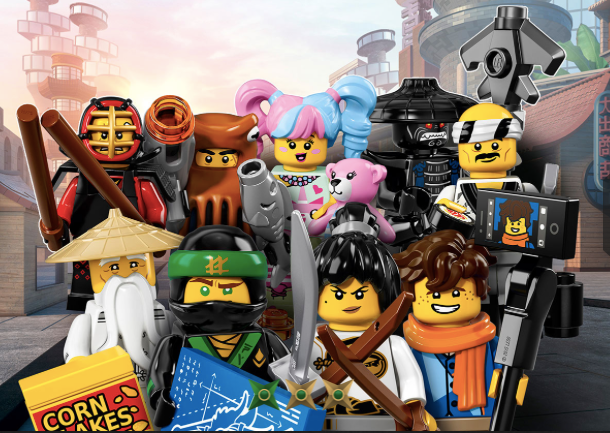 Lego Ninjago Mini Figures