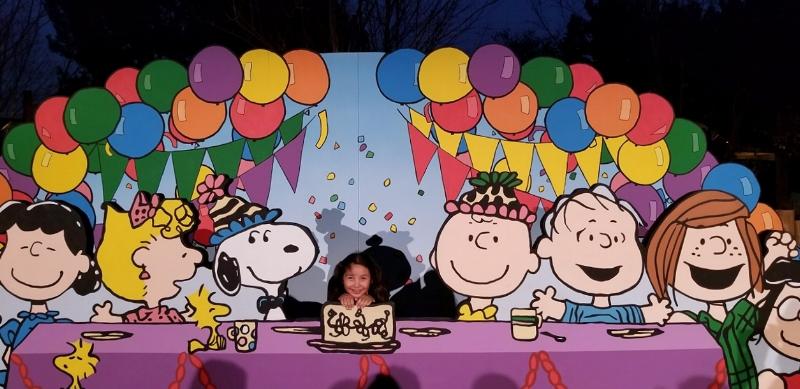 Knott's Berry farm Peanuts Celebration (c) Cleverly Catheryn