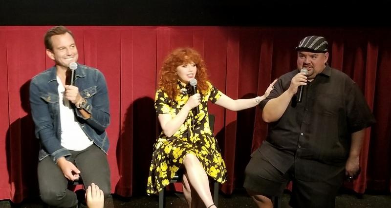 "Will Arnett as Frank, Natasha Lyonne as Mattie &Gabriel ""Fluffy"" Iglesias as Sprinkles"