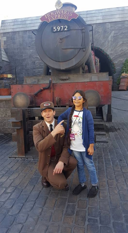Harry Potter Characters at Universal Studios Hollywood