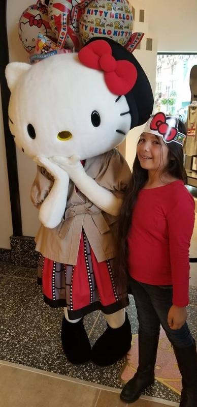 Hello Kitty at Universal Studios Hollywood