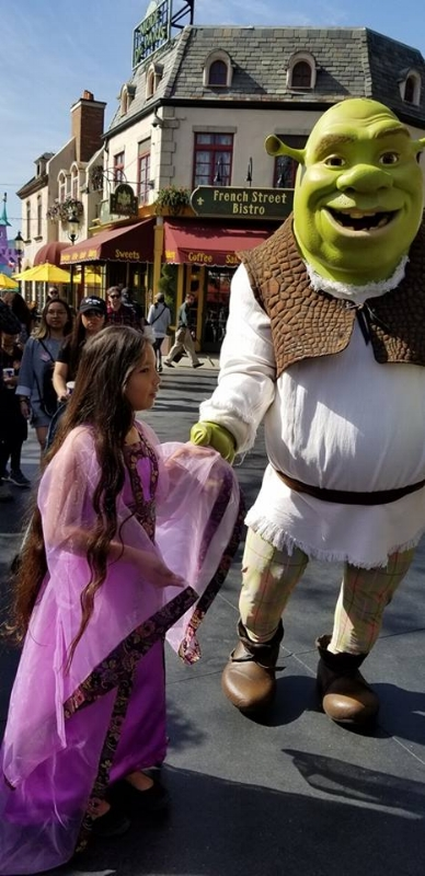 Shrek at Universal Studios Hollywood