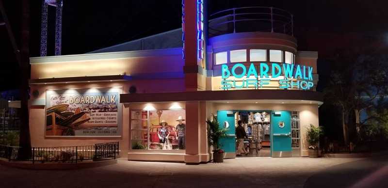 Boardwalk Surf Shop Knott's Berry Farm