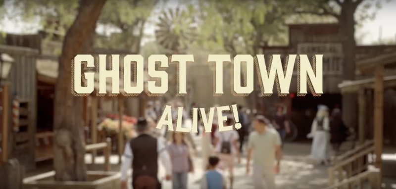 Ghost Town Alive at Knott's Berry Farm