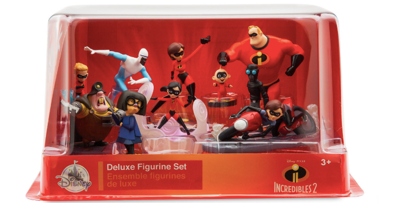 Incredibles 2 deluxe figurine set