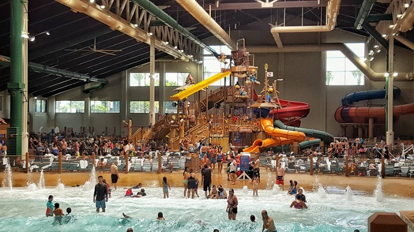 Wave pool, Fort Mackenzie, lazy river and several slides are just a few of the water play areas!