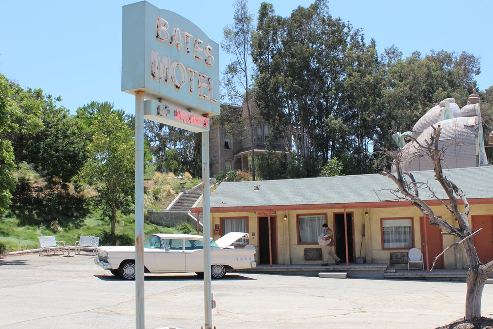The Bates Motel and Psycho House, be sure to wave to Normans mom Norma in the main house.