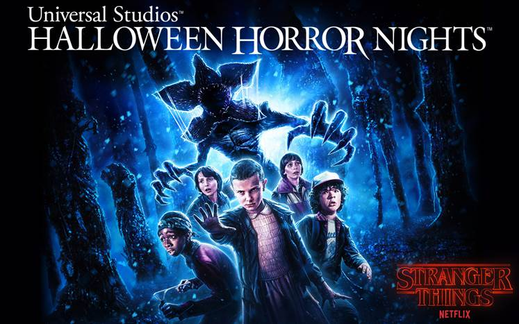 Stranger Things Universal Studios Hollywood HHN 2018