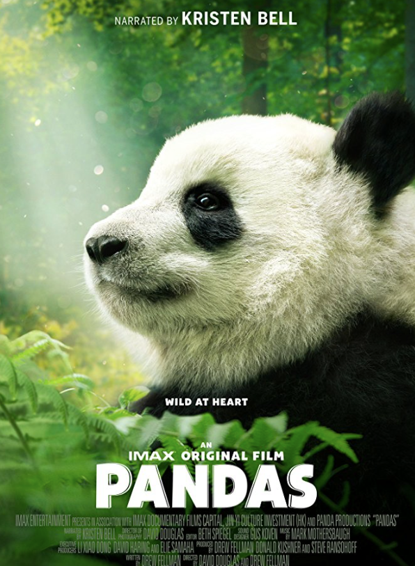 Pandas 3D at the California Science Center