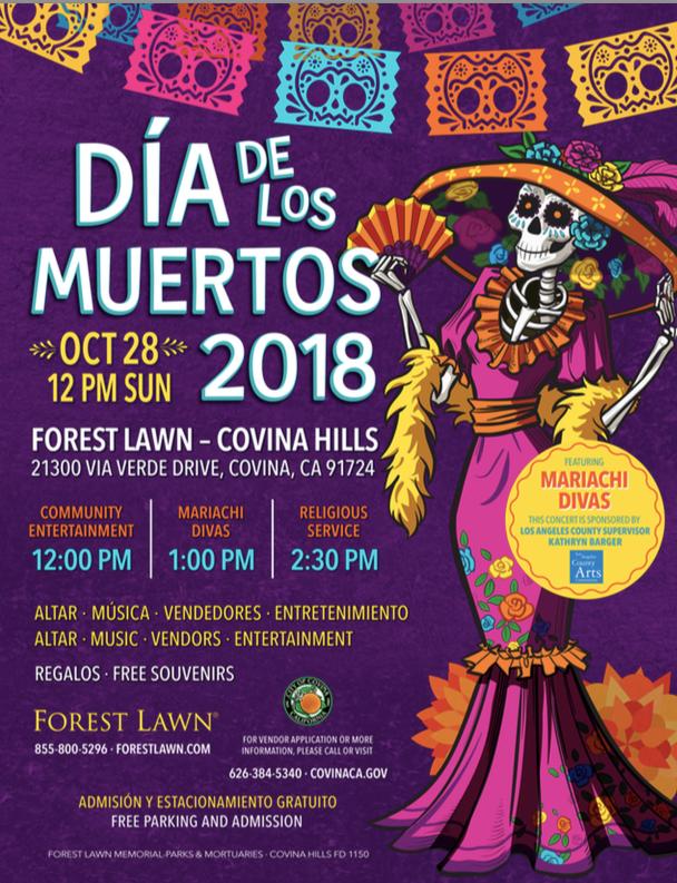 Dia De Los Muertos Covina Hills