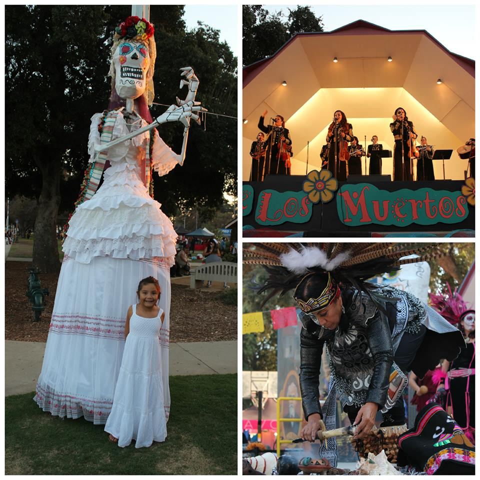 Dia De Los Muertos Covina Hills Forest Lawn (c) Cleverly Catheryn