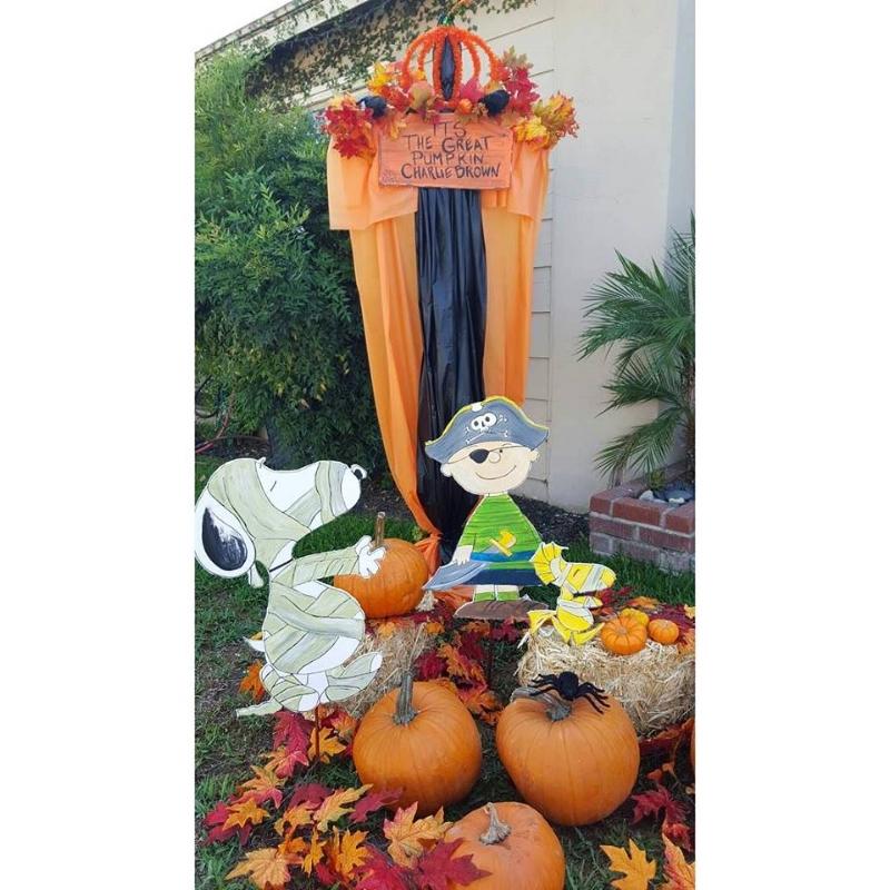 It's The Great Pumpkin Charlie Brown DIY Halloween Lawn Decor