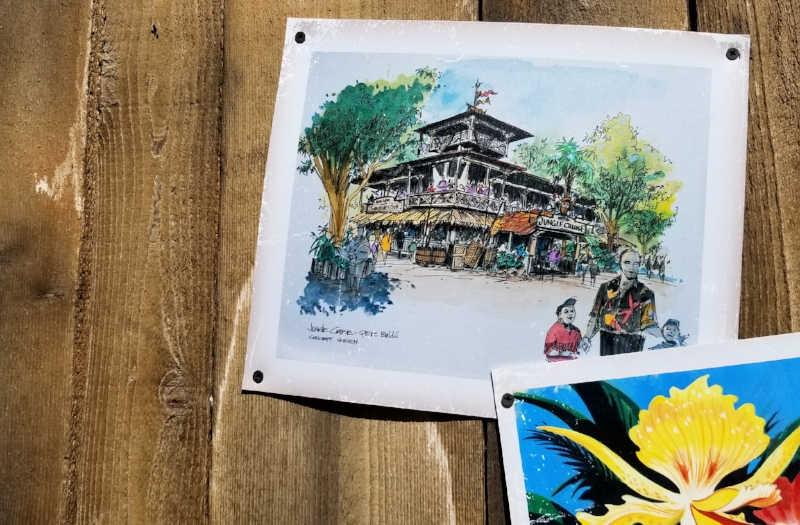 The Tropical Hideaway at Disneyland (c) cleverly Catheryn