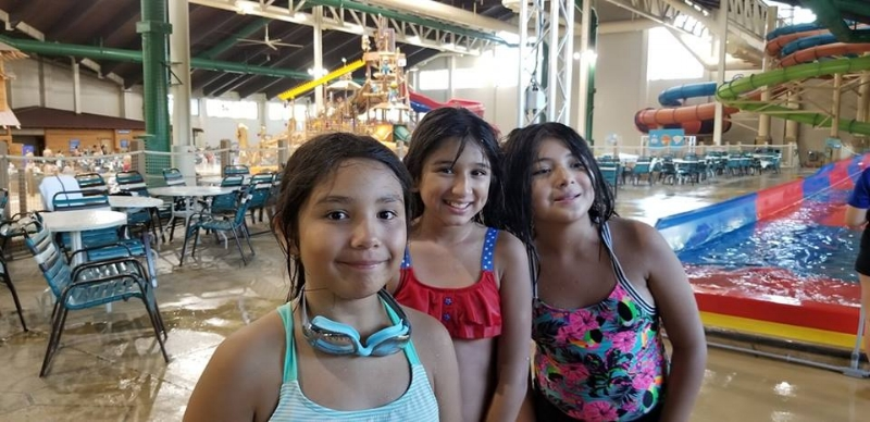 BFF's at Great Wolf Lodge enjoying the Water Park