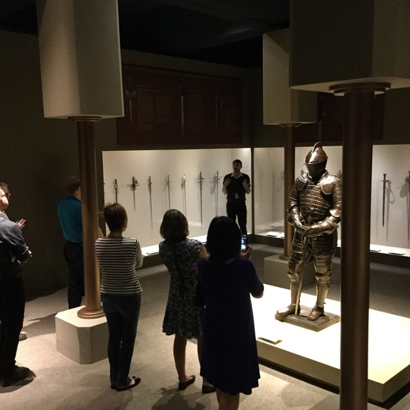 The Kings, Queens, and Castles exhibit at The Bower Museum