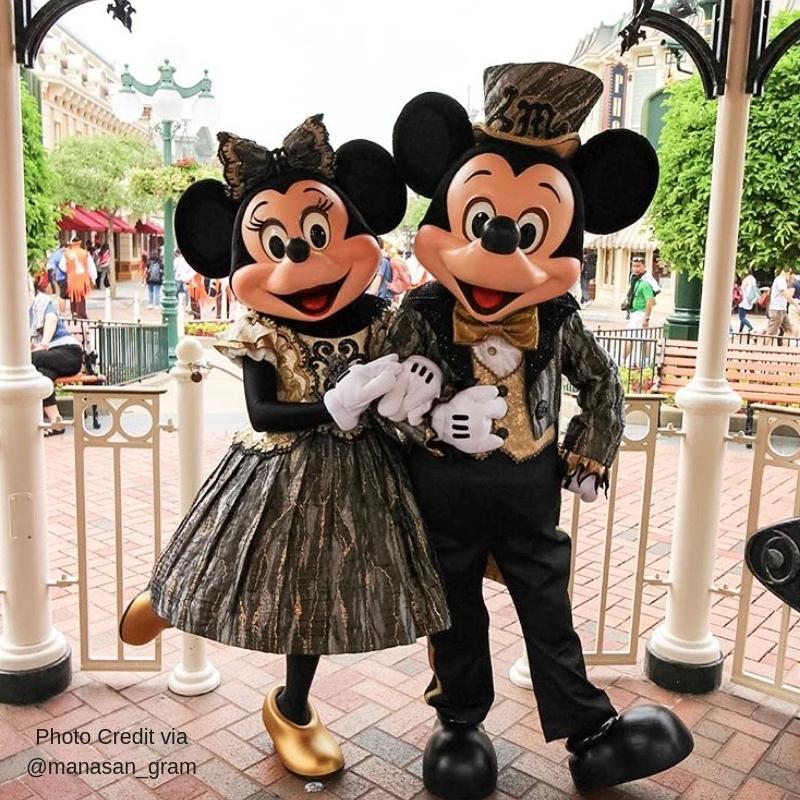 Hong Kong Mickey & Minnie