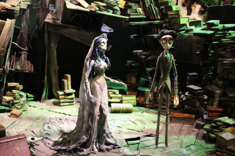 Corpse bride Models Warner Bros Studio Hollywood (c) Cleverly Catheryn