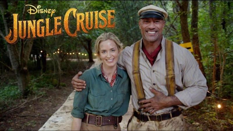 Disney jungle cruise Movie