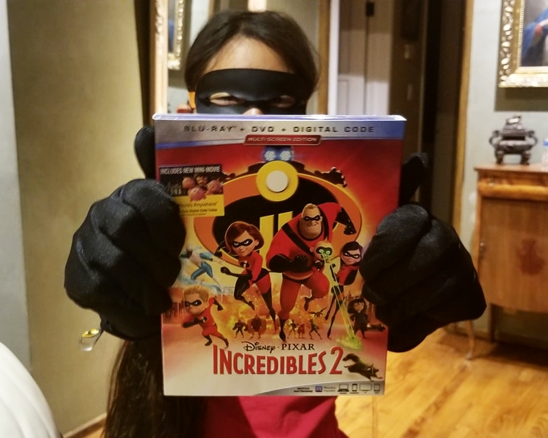 Incredibles 2 Blu-Ray Releasing November 6