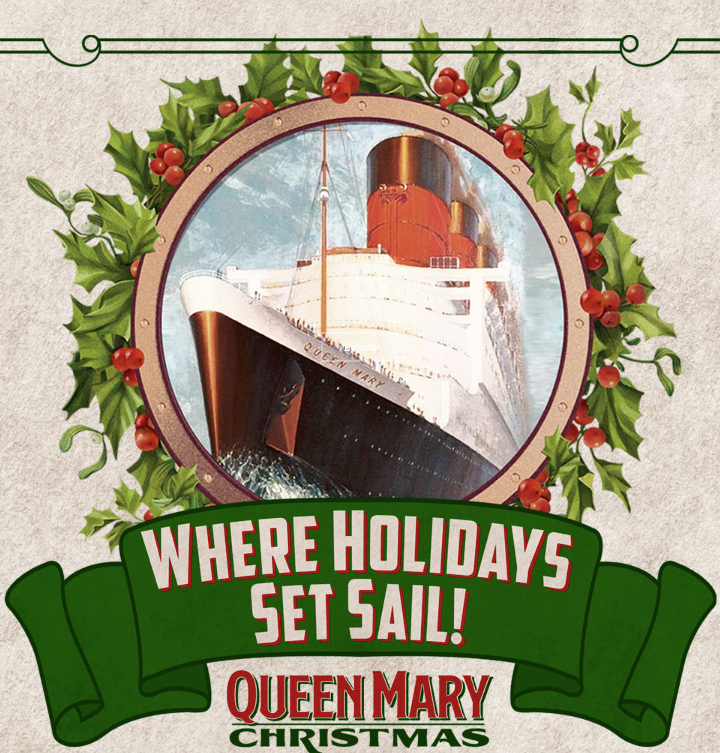 Queen Mary Christmas Holiday Spectacular in Long Beach