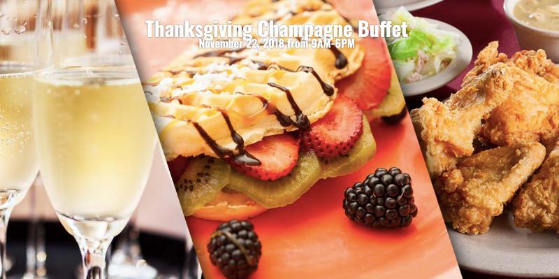Thanksgiving Buffet at Knott's Berry Farm