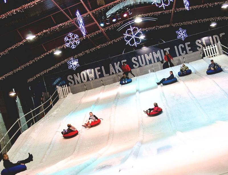 Ice Tubing at Winter Fest OC