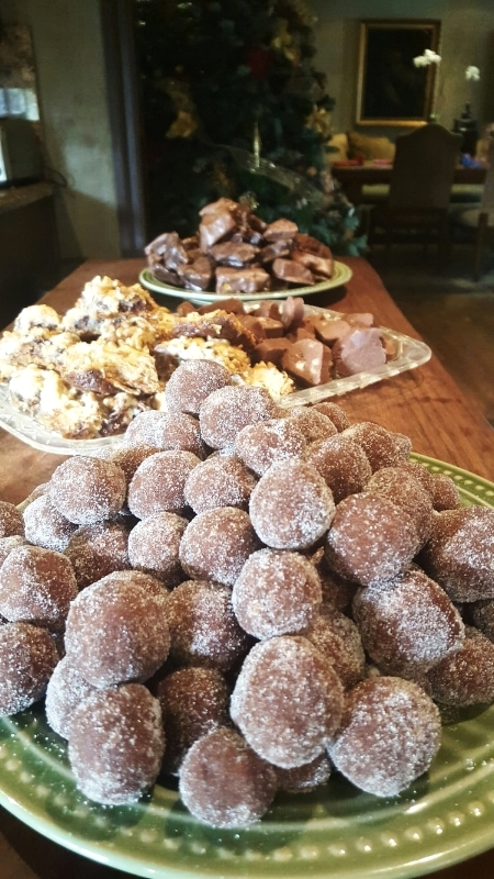 Rum Balls, 7 Layer Bars, Fudge and Honeycomb make for a sweeter holiday!