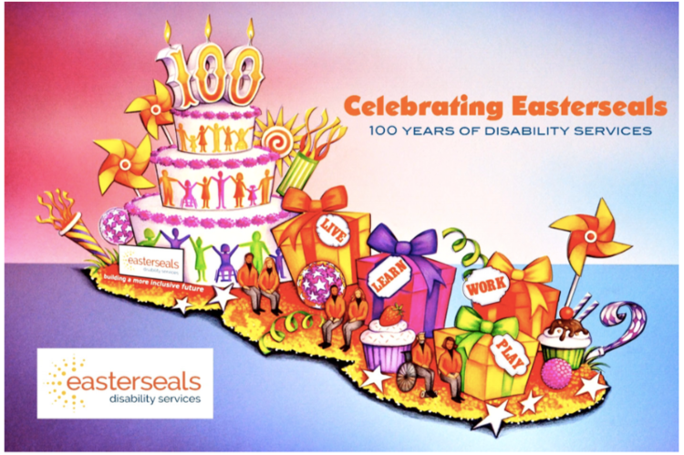 Easterseals 2019 Rose Parade Float Volunteer Decorating Information