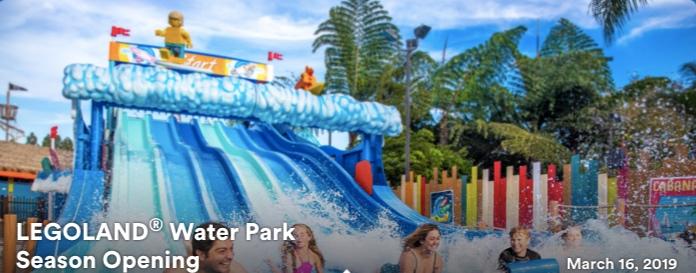 Legoland Water Park Season Opening