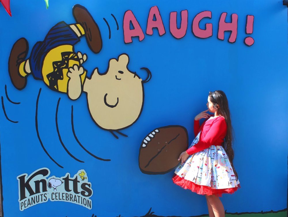 Peanuts Celebration at Knott's Berry Farm (c) Cleverly Catheryn