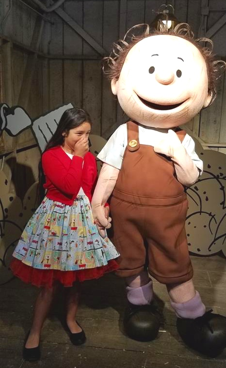 Pig Pen at Peanuts Celebration at Knott's Berry Farm (c) Cleverly Catheryn