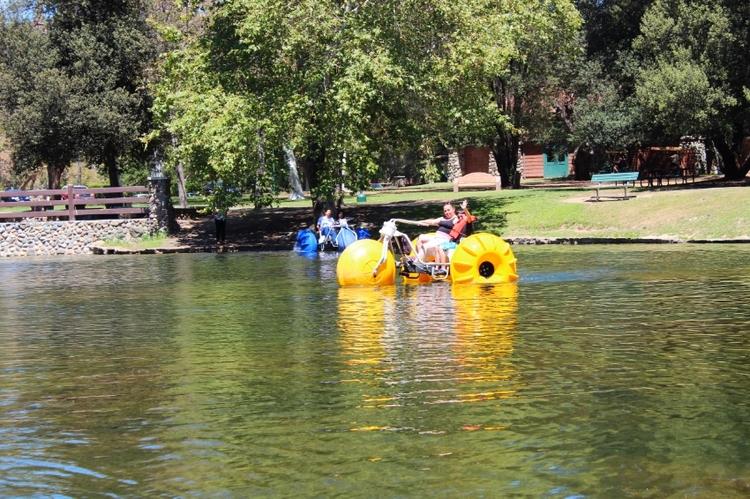 Paddle Boat Rentals at Irvine Park
