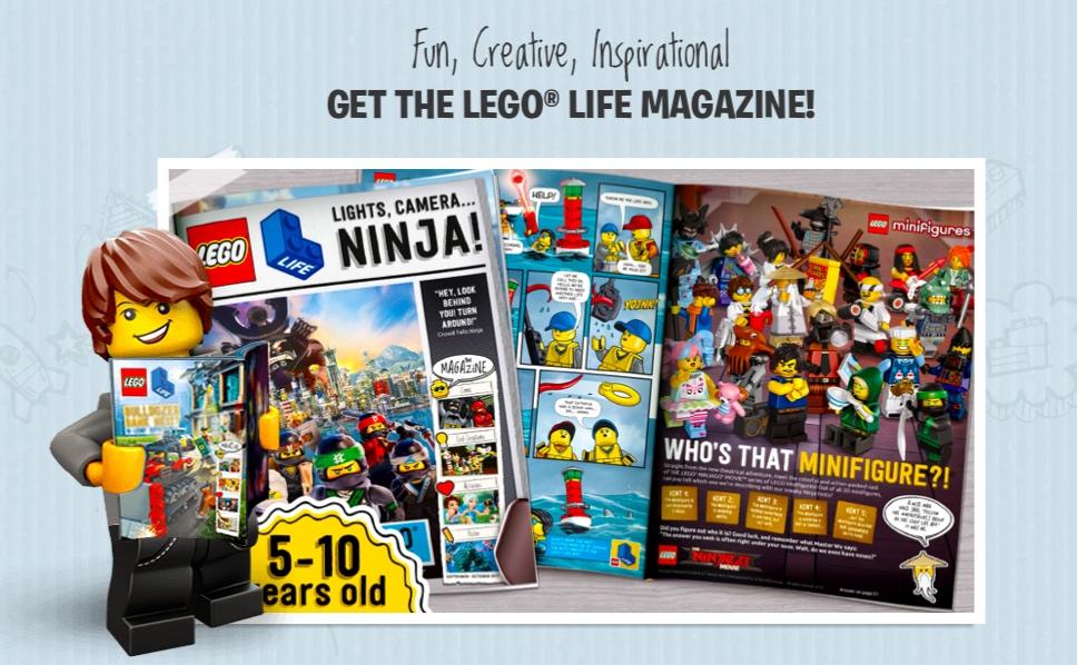 Free Lego Life Magazine Cleverly Catheryn