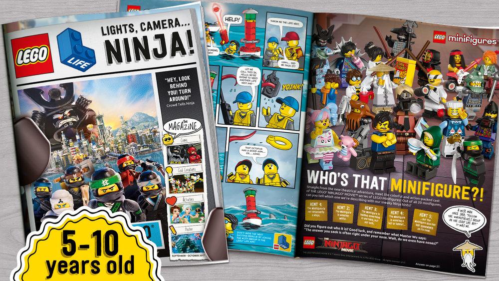 Lego Life magazine