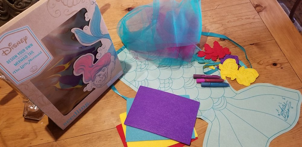 Design Your Own Little Mermaid Tail (c) Cleverly Catheryn