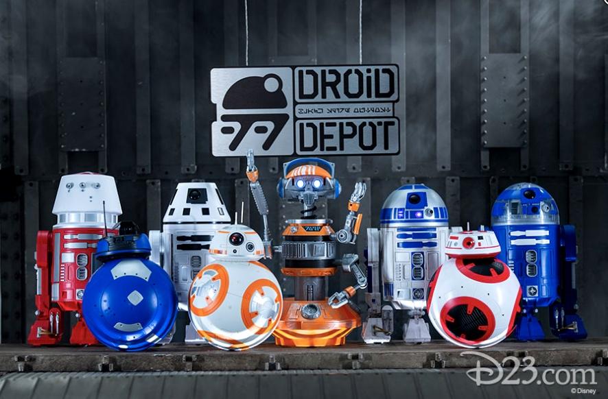 Droid Depot Galaxy's Edge Disneyland
