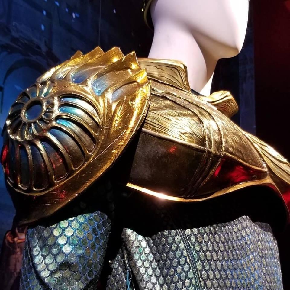 Aquaman Plunges into DC Universe The Exhibit at Warner Bros Studios Hollywood