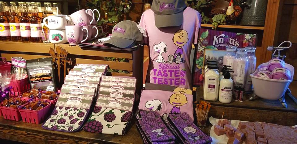 Knotts Boysenberry Festival Merchandise (c) Cleverly Catheryn