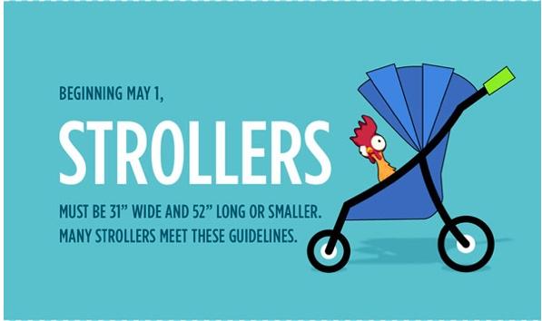 Disneyland Resort Stroller Rules