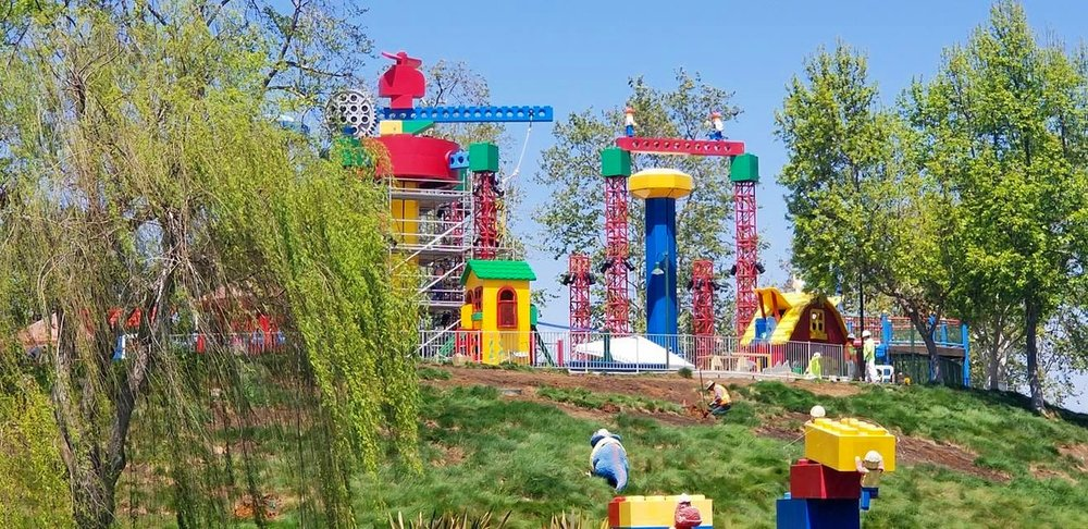 The soon to be opened Duplo Playtown Look for it to open May 9, 2019