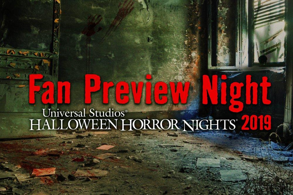 Universal Studios Halloween Horror Nights 2019.First Ever Halloween Horror Nights Fan Preview Night At Universal